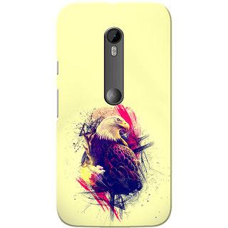 Moto G3 Case, Moto G Turbo Case, Eagle Cream Slim Fit Hard Case Cover/Back Cover for Motorola Moto G3/Moto G 3rd Gen/Moto G Turbo