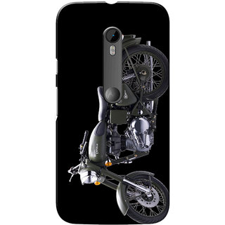 Moto G3 Case, Moto G Turbo Case, Grey Bul Black Slim Fit Hard Case Cover/Back Cover for Motorola Moto G3/Moto G 3rd Gen/Moto G Turbo