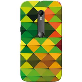 Moto G3 Case, Moto G Turbo Case, Multi Color Diamond Slim Fit Hard Case Cover/Back Cover for Motorola Moto G3/Moto G 3rd Gen/Moto G Turbo