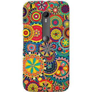 Moto G3 Case, Moto G Turbo Case, Colourful Wheels Slim Fit Hard Case Cover/Back Cover for Motorola Moto G3/Moto G 3rd Gen/Moto G Turbo