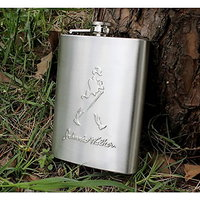 Right Traders Hip Flask ( pack of 1 ) 7oz