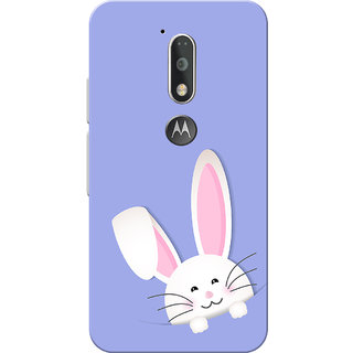 Moto G4 Plus, Moto G4 Case, Baby Bunny Blue Slim Fit Hard Case Cover/Back Cover for Moto G4 Plus/Motorola Moto G4/Moto G Plus 4th Gen/Moto G 4th Gen