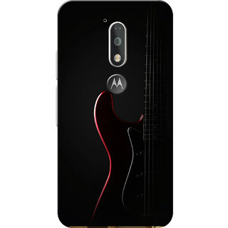 Moto G4 Plus, Moto G4 Case, Guitar Black Slim Fit Hard Case Cover/Back Cover for Moto G4 Plus/Motorola Moto G4/Moto G Plus 4th Gen/Moto G 4th Gen