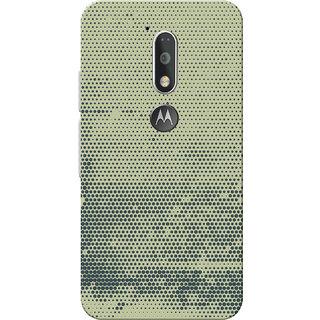 Moto G4 Plus, Moto G4 Case, Black Dots Grey Slim Fit Hard Case Cover/Back Cover for Moto G4 Plus/Motorola Moto G4/Moto G Plus 4th Gen/Moto G 4th Gen