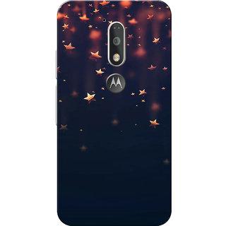 Moto G4 Plus, Moto G4 Case, Shinning Stars Slim Fit Hard Case Cover/Back Cover for Moto G4 Plus/Motorola Moto G4/Moto G Plus 4th Gen/Moto G 4th Gen