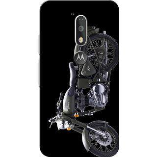 Moto G4 Plus, Moto G4 Case, Grey Bul Black Slim Fit Hard Case Cover/Back Cover for Moto G4 Plus/Motorola Moto G4/Moto G Plus 4th Gen/Moto G 4th Gen