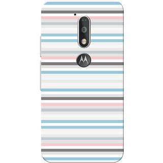 Moto G4 Plus, Moto G4 Case, Multi Lines Slim Fit Hard Case Cover/Back Cover for Moto G4 Plus/Motorola Moto G4/Moto G Plus 4th Gen/Moto G 4th Gen