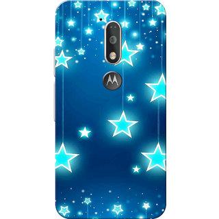 Moto G4 Plus, Moto G4 Case, Chirstmas Stars Slim Fit Hard Case Cover/Back Cover for Moto G4 Plus/Motorola Moto G4/Moto G Plus 4th Gen/Moto G 4th Gen