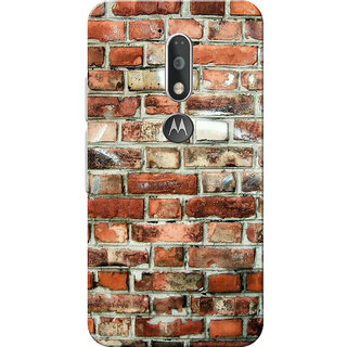 Moto G4 Plus, Moto G4 Case, Bricks Slim Fit Hard Case Cover/Back Cover for Moto G4 Plus/Motorola Moto G4/Moto G Plus 4th Gen/Moto G 4th Gen