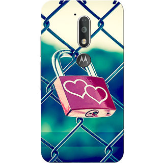 Moto G4 Plus, Moto G4 Case, Love Lock Slim Fit Hard Case Cover/Back Cover for Moto G4 Plus/Motorola Moto G4/Moto G Plus 4th Gen/Moto G 4th Gen