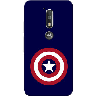Moto G4 Plus, Moto G4 Case, CA Navy Blue Slim Fit Hard Case Cover/Back Cover for Moto G4 Plus/Motorola Moto G4/Moto G Plus 4th Gen/Moto G 4th Gen
