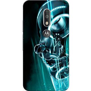 Moto G4 Plus, Moto G4 Case, Crazy Rider Aqua Slim Fit Hard Case Cover/Back Cover for Moto G4 Plus/Motorola Moto G4/Moto G Plus 4th Gen/Moto G 4th Gen