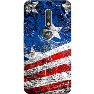 Moto G4 Plus, Moto G4 Case, Flag Texture Slim Fit Hard Case Cover/Back Cover for Moto G4 Plus/Motorola Moto G4/Moto G Plus 4th Gen/Moto G 4th Gen