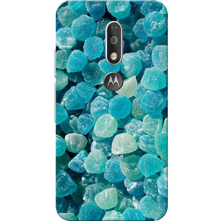 Moto G4 Plus, Moto G4 Case, Stones Blue Slim Fit Hard Case Cover/Back Cover for Moto G4 Plus/Motorola Moto G4/Moto G Plus 4th Gen/Moto G 4th Gen
