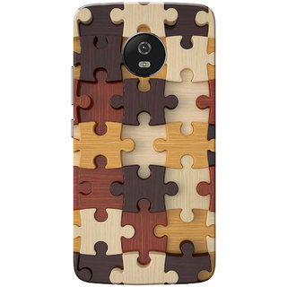 Moto G5 Case, Jigsaw Puzzle Slim Fit Hard Case Cover/Back Cover for Motorola Moto G5/Moto G 5th Gen
