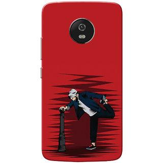 Moto G5 Case, Vikram Red Slim Fit Hard Case Cover/Back Cover for Motorola Moto G5/Moto G 5th Gen