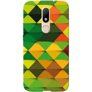 Moto M Case, Multi Color Diamond Slim Fit Hard Case Cover/Back Cover for Motorola Moto M