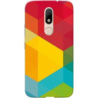 Moto M Case, Multi Color Design Slim Fit Hard Case Cover/Back Cover for Motorola Moto M