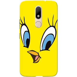 Moto M Case, Tweet Slim Fit Hard Case Cover/Back Cover for Motorola Moto M