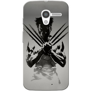 Moto X 2013 Case, Wolverin Slim Fit Hard Case Cover/Back Cover for Motorola Moto X 2013