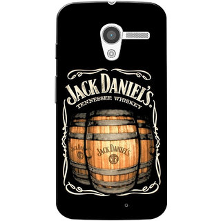 Moto X 2013 Case, JD Slim Fit Hard Case Cover/Back Cover for Motorola Moto X 2013