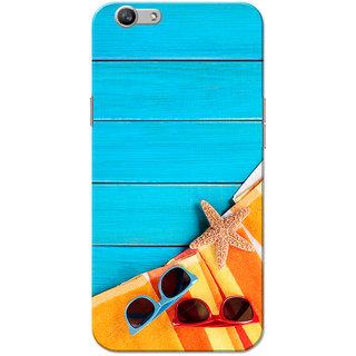 Oppo F1S Case, Summer Blue Slim Fit Hard Case Cover/Back Cover for OPPO F1s