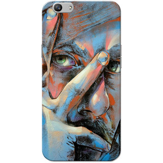 Oppo F1S Case, Pirates Of The CBBlue Slim Fit Hard Case Cover/Back Cover for OPPO F1s