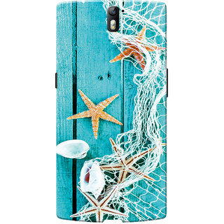 OnePlus One Case, One Plus One Case, Star Fish Blue Slim Fit Hard Case Cover/Back Cover for OnePlus One