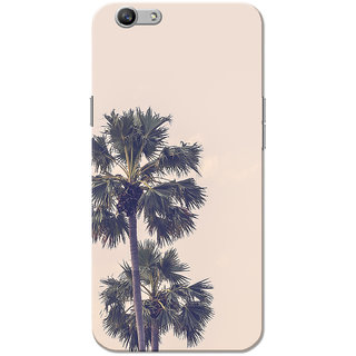 Oppo F1S Case, Coconut Tree Pink Slim Fit Hard Case Cover/Back Cover for OPPO F1s