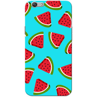 Oppo F1S Case, Watermelon Blue Slim Fit Hard Case Cover/Back Cover for OPPO F1s