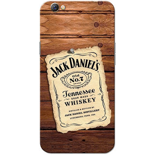 Oppo F3 Case, JD Brown Slim Fit Hard Case Cover/Back Cover for OPPO F3