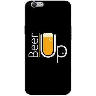 Oppo F1S Case, Beer Up Black Slim Fit Hard Case Cover/Back Cover for OPPO F1s