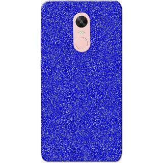 Redmi Note 4, Redmi Note 4X Case, Sparkle Blue Slim Fit Hard Case Cover/Back Cover for Redmi Note 4/Redmi Note 4X