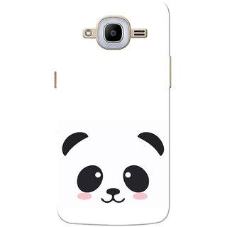 wholesale dealer d6763 210bb Galaxy J2 2016 Case, Galaxy J2 Pro 2016 Case, Black Cute Panda White Slim  Fit Hard Case Cover/Back Cover for Samsung Galaxy J2 Pro 2016/Galaxy J2 2016