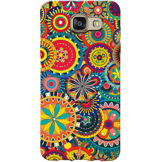 Galaxy J5 Prime Case, Galaxy On5 2016 Case, Colourful Wheels Slim Fit Hard Case Cover/Back Cover for Samsung Galaxy J5 Prime/On5 2016
