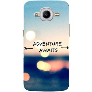 Galaxy J2 2016 Case, Galaxy J2 Pro 2016 Case, Adventure Awaits Slim Fit Hard Case Cover/Back Cover for Samsung Galaxy J2 Pro 2016/Galaxy J2 2016