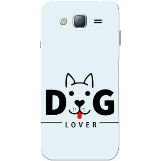 Galaxy J3 2016 Case, Dog Lover Sky Blue Slim Fit Hard Case Cover/Back Cover for Samsung Galaxy J3 2016/J320F/DD