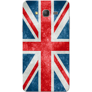 Galaxy On7 Case, Galaxy On7 Pro Case, Eng Flag Slim Fit Hard Case Cover/Back Cover for Samsung Galaxy On 7/On7 Pro