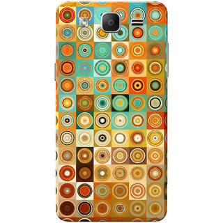 Galaxy On5 Case, Galaxy On5 Pro Case, Multi Color Circles Slim Fit Hard Case Cover/Back Cover for Samsung Galaxy On 5/On5 Pro