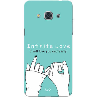 Galaxy J3 Pro Case, Infinite Love Slim Fit Hard Case Cover/Back Cover for Samsung Galaxy J3 Pro
