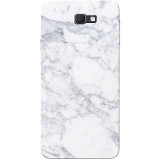Galaxy J7 Prime Case, Marble White Slim Fit Hard Case Cover/Back Cover for Samsung Galaxy J7 Prime (G610F/DD)