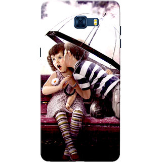 Galaxy C7 Pro Case, First Kiss Slim Fit Hard Case Cover/Back Cover for Samsung Galaxy C7 Pro