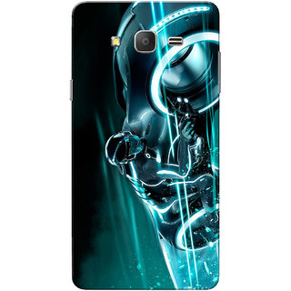 Galaxy On7 Case, Galaxy On7 Pro Case, Crazy Rider Aqua Slim Fit Hard Case Cover/Back Cover for Samsung Galaxy On 7/On7 Pro