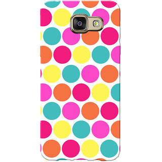 Galaxy J5 Prime Case, Galaxy On5 2016 Case, Small Circles Slim Fit Hard Case Cover/Back Cover for Samsung Galaxy J5 Prime/On5 2016