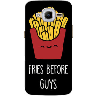 Galaxy J2 2016 Case, Galaxy J2 Pro 2016 Case, Fries Before Guys Black Slim Fit Hard Case Cover/Back Cover for Samsung Galaxy J2 Pro 2016/Galaxy J2 2016