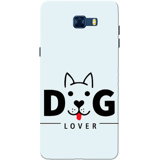 Galaxy C7 Pro Case, Dog Lover Sky Blue Slim Fit Hard Case Cover/Back Cover for Samsung Galaxy C7 Pro