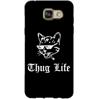 Galaxy J5 Prime Case, Galaxy On5 2016 Case, Thug Life Black Slim Fit Hard Case Cover/Back Cover for Samsung Galaxy J5 Prime/On5 2016