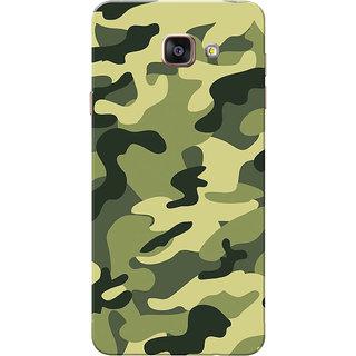 Galaxy A7 2016 Case, Galaxy A710 Case, Army Light Shade Uniform Slim Fit Hard Case Cover/Back Cover for Samsung Galaxy A7 2016/A710