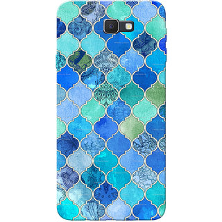 Galaxy J7 Prime Case, BlueGreen Color Slim Fit Hard Case Cover/Back Cover for Samsung Galaxy J7 Prime (G610F/DD)