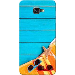 Galaxy On7 2016 Case, Summer Blue Slim Fit Hard Case Cover/Back Cover for Samsung Galaxy On7 2016/Galaxy On 7 2016